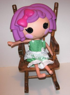 """Green with lace 2 piece 13"""" LaLaLoopsy outfit"""