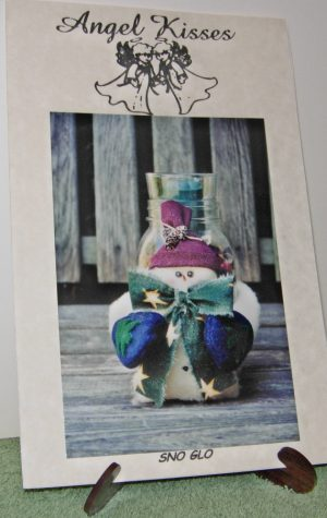 Snowman Pattern for snowman sno glo candle holder