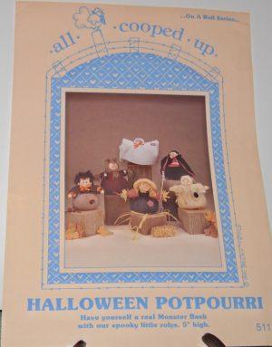 Halloween Potpourri rolly pollys pattern