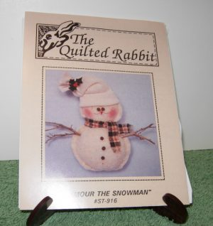 "Snowman pattern by The Quilted Rabbit ""Seymour the Snowman"""