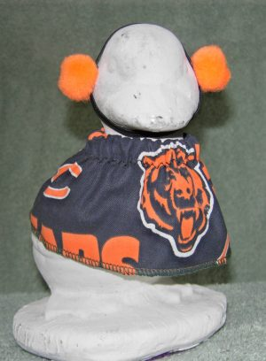 """Football Chicago Bears outfit for 6"""" boy cement geese"""