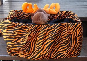 pet cover tiger stripes 1